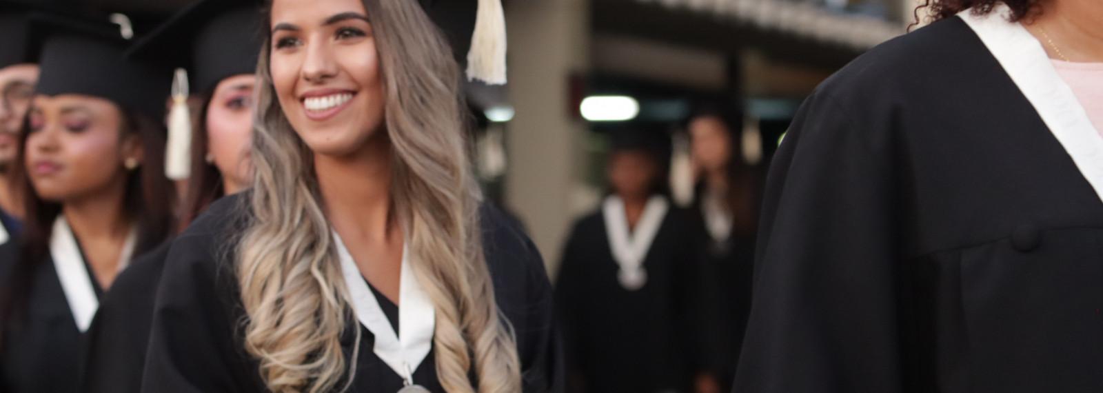 A successful graduation ceremony