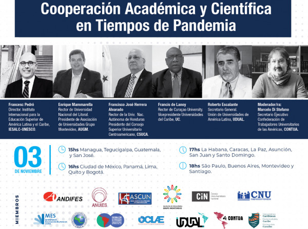 Cooperacion Academica Y Cientifica en Tiempos de Pandemia