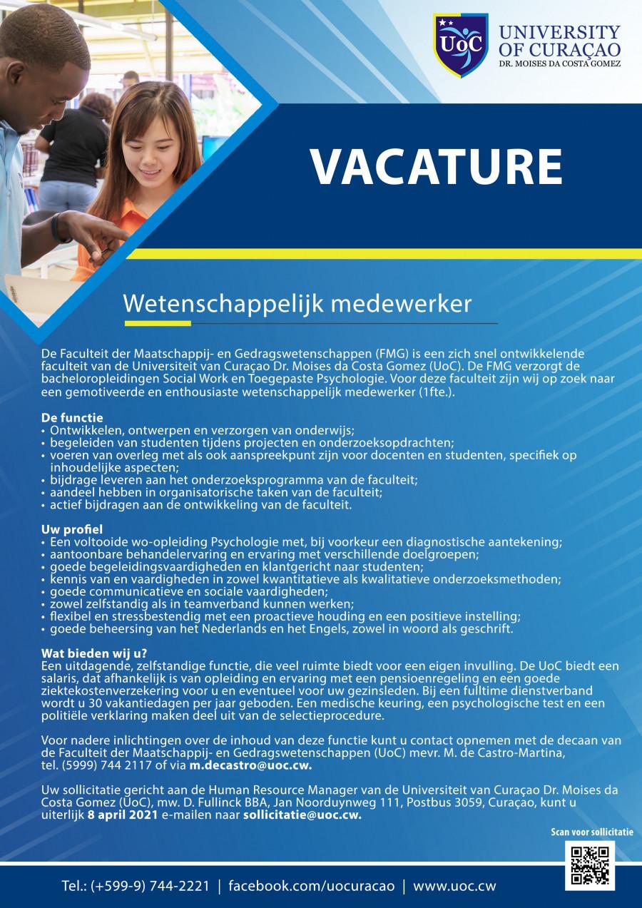 Vacancy 1