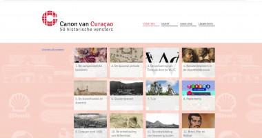 Launch website Canoncuracao